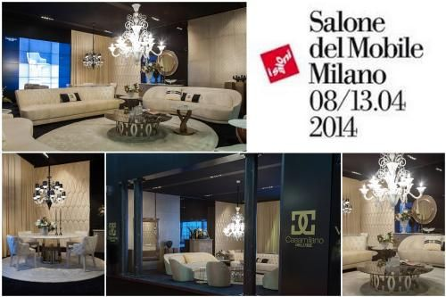 Deluxe by Casamilano at Int'l Furniture Fair in Milan