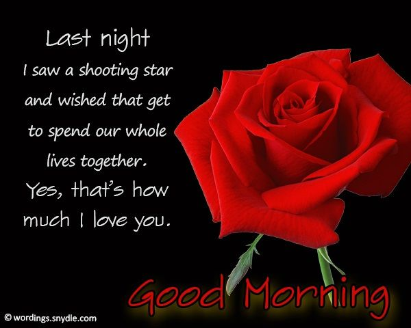 Good morning messages for him - 365greetings.com | Morning ...