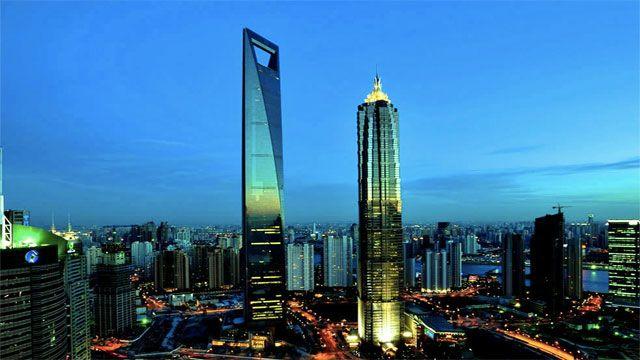 Shanghai World Financial Center (China)
