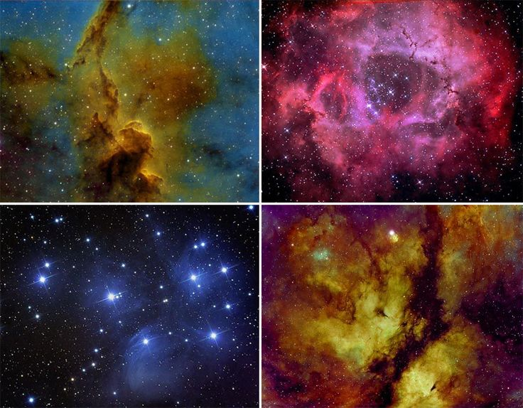 Astronomer Eric Coles, 70 captured his incredible images over the course of a year using different filters on a variety of telescopes. Whilst space boffin Georgiy Suturin captured his spectacular images using a camera and HOMEMADE telescope.