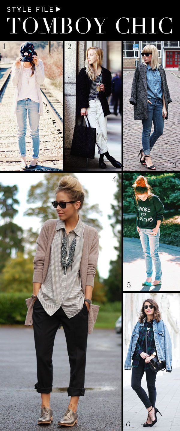 Style File: Tomboy Chic   theglitterguide.com. Absolutely love this!