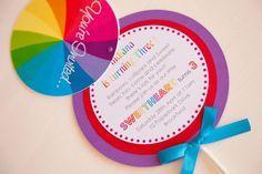 Empresa Little Big | El Blog: Un magnífico arco iris Partido Lollipop por Jo Estudio