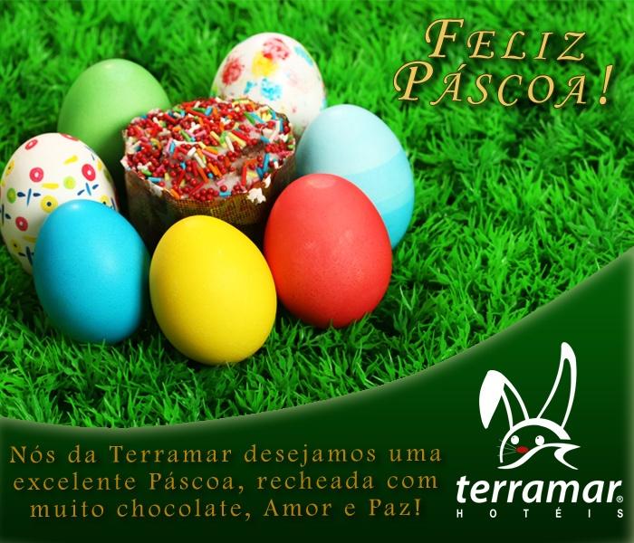 A Terramar deseja um Feliz Páscoa a todos os amigos!