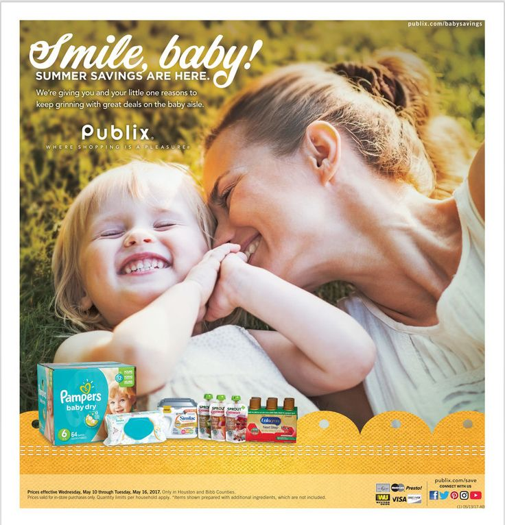 Publix Baby Sale Ad May 10 - 16, 2017 - http://www.olcatalog.com/grocery/publix-sale.html