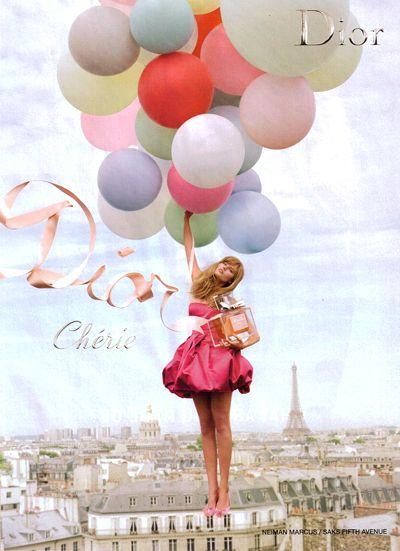 diorFashion, Miss Dior, Christian Dior, Ads Campaigns, Dior Cheri, Sofia Coppola, Tim Walker, Missdior, Balloons