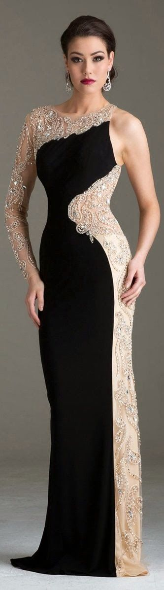 Evening Gown. #wedding #gown #dress