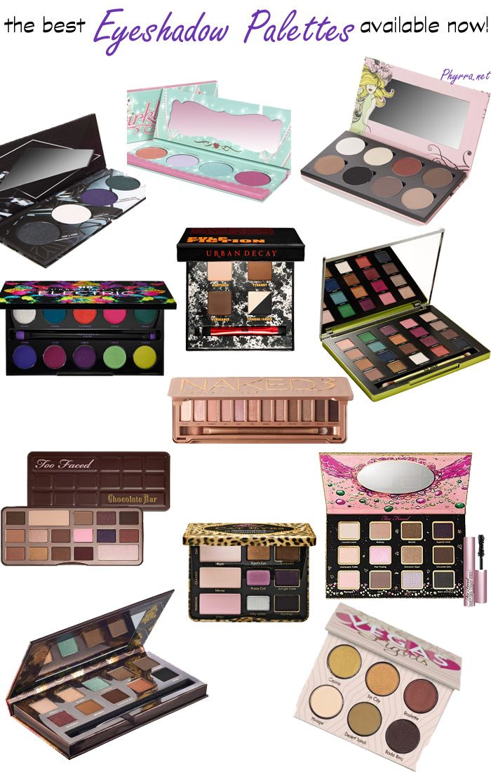 Makeup Palettes: Too Faced, Makeup And Makeup Pallets