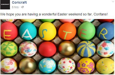 #CoricraftEggHunt more gold eggs, wishing @Coricraft a Happy Easter xx