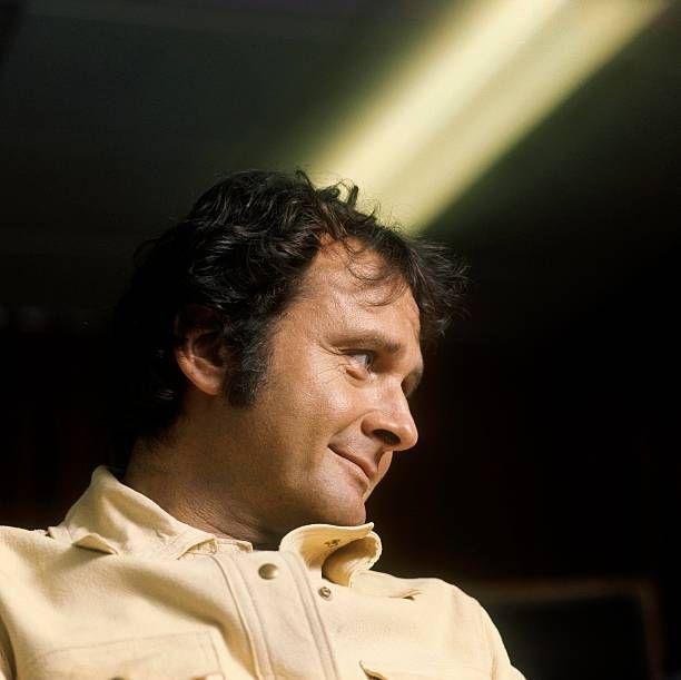 Photo of Stan GETZ; in recording studio