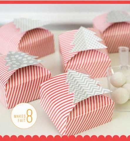 Merry and Bright Favor Boxes