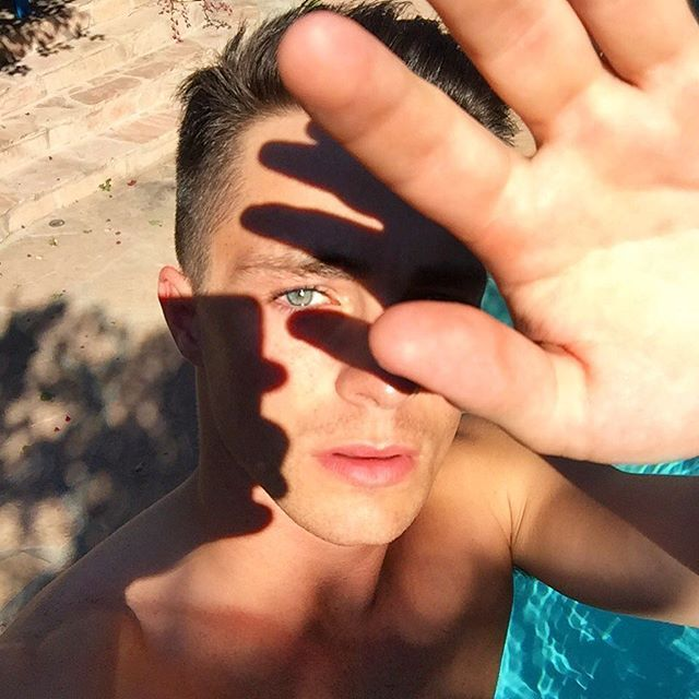 Pin for Later: 39 Photos of Colton Haynes's Shirtless Body That Will Make You Beg For Mercy This Hypnotizing Photo of His . . . Eye
