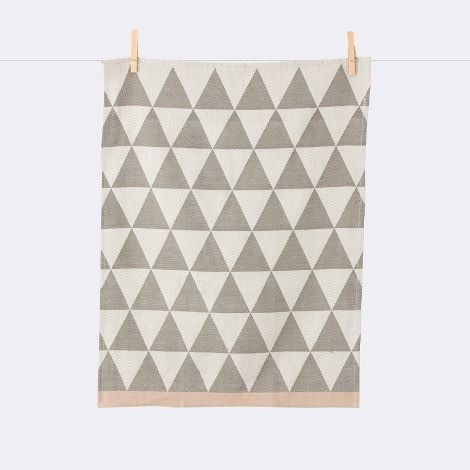 Mountain Tea Towel - Grey