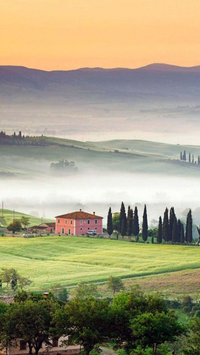 Val d'Orcia, Province of Siena, Tuscany region Italy