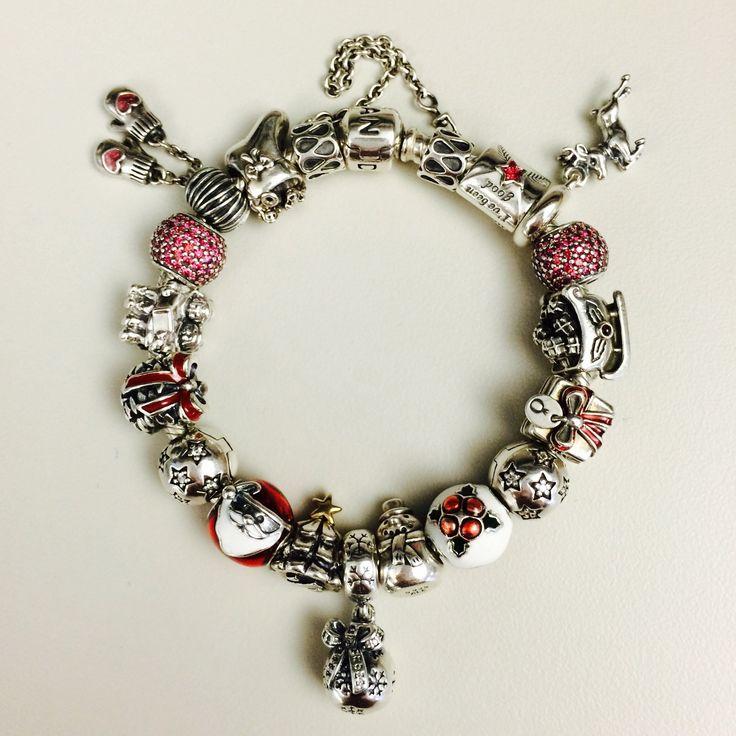 Pandora Christmas bracelet. ❤️Love this❤️