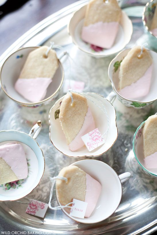 Victorian Cake Display | by Wild Orchid Baking Co | #PinkWeek on TheCakeBlog.com #teatime