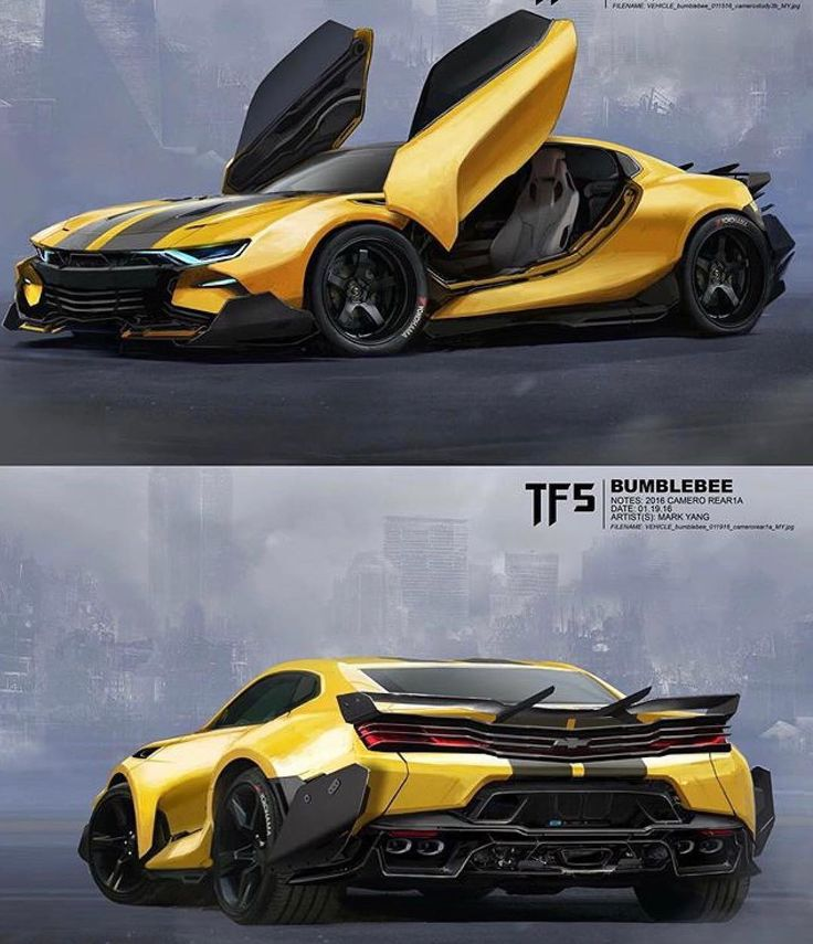 "Polubienia: 328, komentarze: 6 – The Bumblebee Movie: 2018 (@alfonsonation) na Instagramie: ""This alt-mode concept is so sexy! Mark Yang, I salute you!  • #transformers #bumblebee…"""