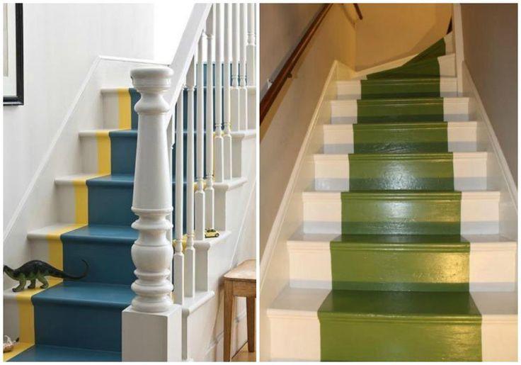 Las 25 mejores ideas sobre pintar escaleras en pinterest - Escaleras para pintar ...