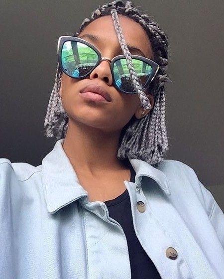 Wondrous 1000 Ideas About Short Box Braids Hairstyles On Pinterest Box Hairstyles For Women Draintrainus