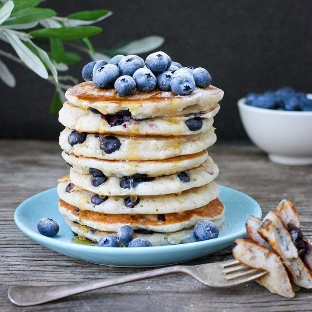 The recipe for my Blueberry Gluten Free Pancakes is now on the blog  #flatlay #flatlays #flatlayapp www.flat-lay.com