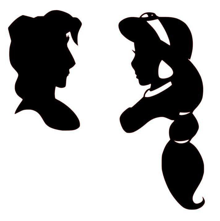 Disney 10 X Aladdin Genie VINYL DECAL STICKER FOR CRAFT WINE GLASS