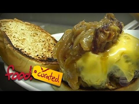 The Best Burger in New York City: The Brindle Room | food.curated. | Reserve Channel - YouTube
