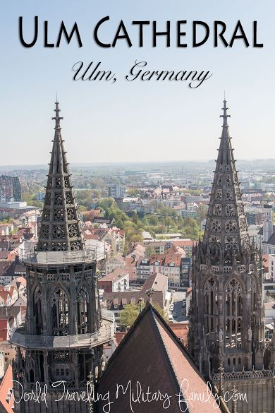 Ulm Cathedral – Germany. It's about 4 hours 15 mins from the Spangdahlem, 3 hours 18 mins from Ramstein and 2 hours from Garmisch.