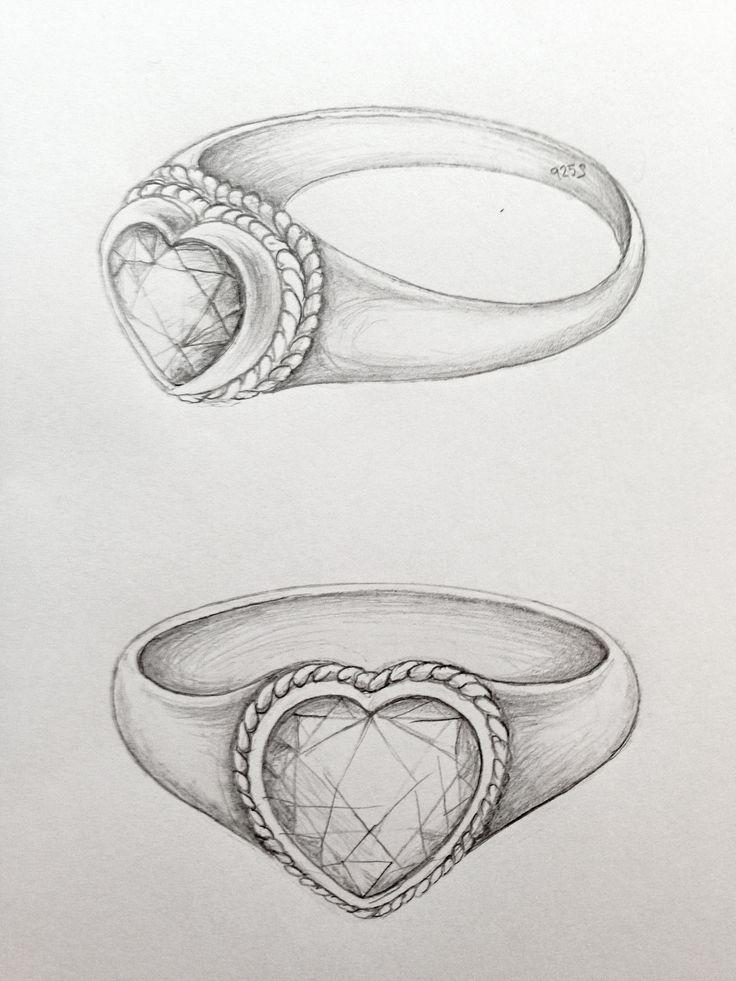 Heart ring @Katrine Hammer