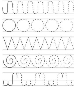 Free printable shapes worksheets for toddlers and preschoolers – MyKingList.com
