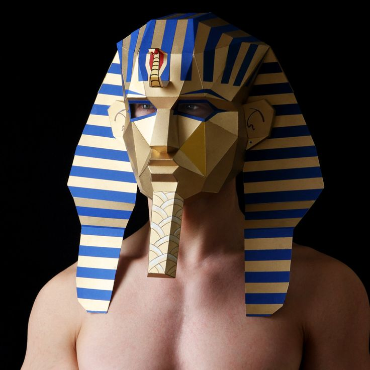 egyptian masks templates - pharaoh mask make your own egyptian mask with card from