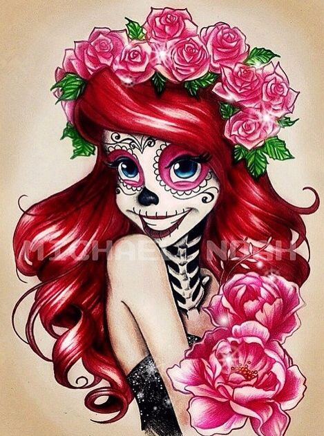 Day of the Dead Ariel