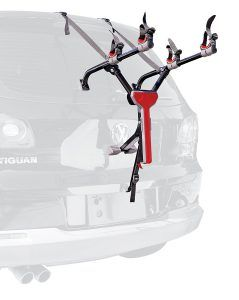 9. Allen Sports Ultra Compact Folding 2-Bike Trunk Mount Rack