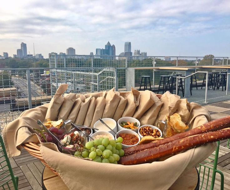 A Rooftop Brunch Spot Opened in Georgia And It's Totally Stunning