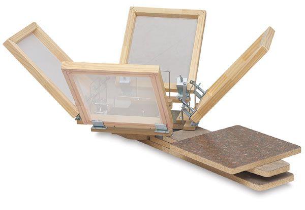 Blick 4-Color Garment Screen Printing Machine - BLICK art materials