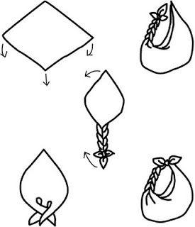 Furoshiki - pliages originaux