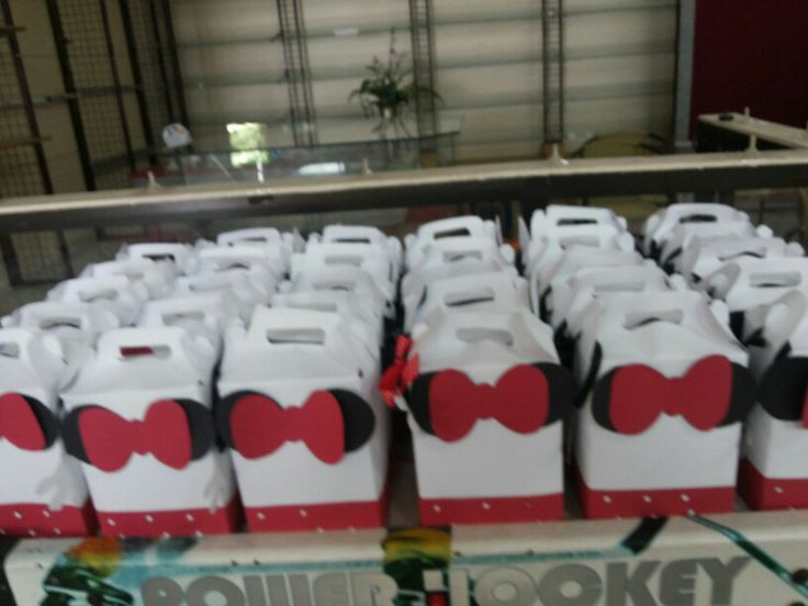 Minnie mouse goodiebag