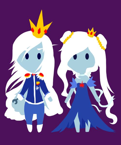 Crossovers King And Queen: 1000+ Images About Ice King And Ice Queen On Pinterest