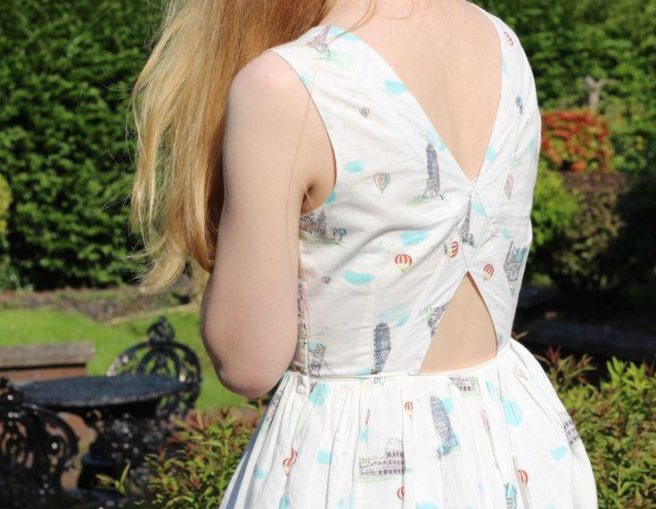 Summer Breeze   Oliver Bonas dress - blogger style