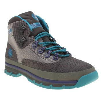 Timberland Grey Euro Hiker Mid Jacquard Mens Boots The Timberland Euro Hiker Mid Jacquard gets a modern update for the new season. The lightweight boot arrives in grey fabric with purple and blue accents. SensorFlex technology provides a supportive we http://www.MightGet.com/january-2017-13/timberland-grey-euro-hiker-mid-jacquard-mens-boots.asp