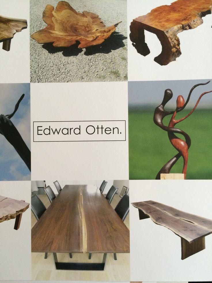 Beautiful woodwork by Edward Otten
