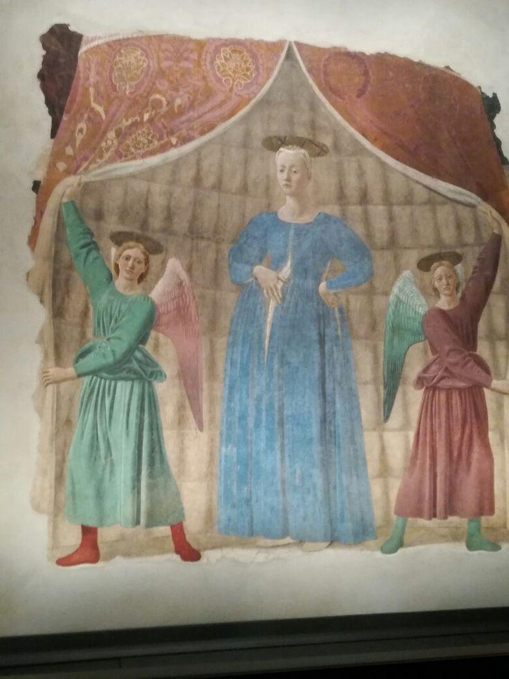 Piero della Francesca Madonna del Parto Moncalieri
