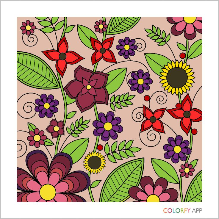 #Coloring with #Colorfy.