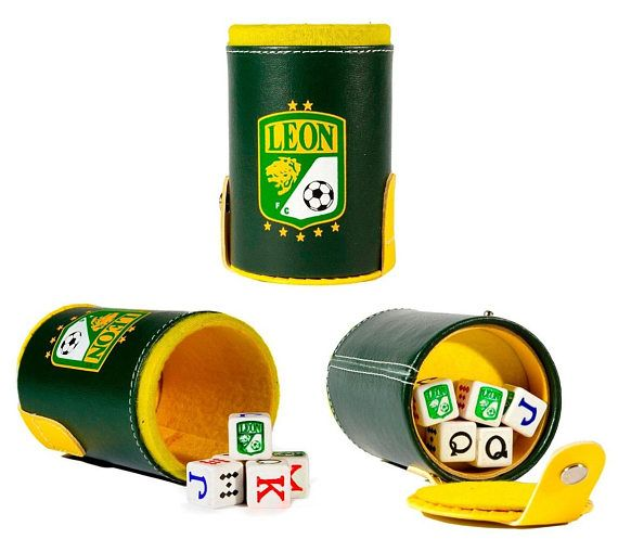 Club Leon Cubilete Poker Dice Shaker Cup Game Party Gift