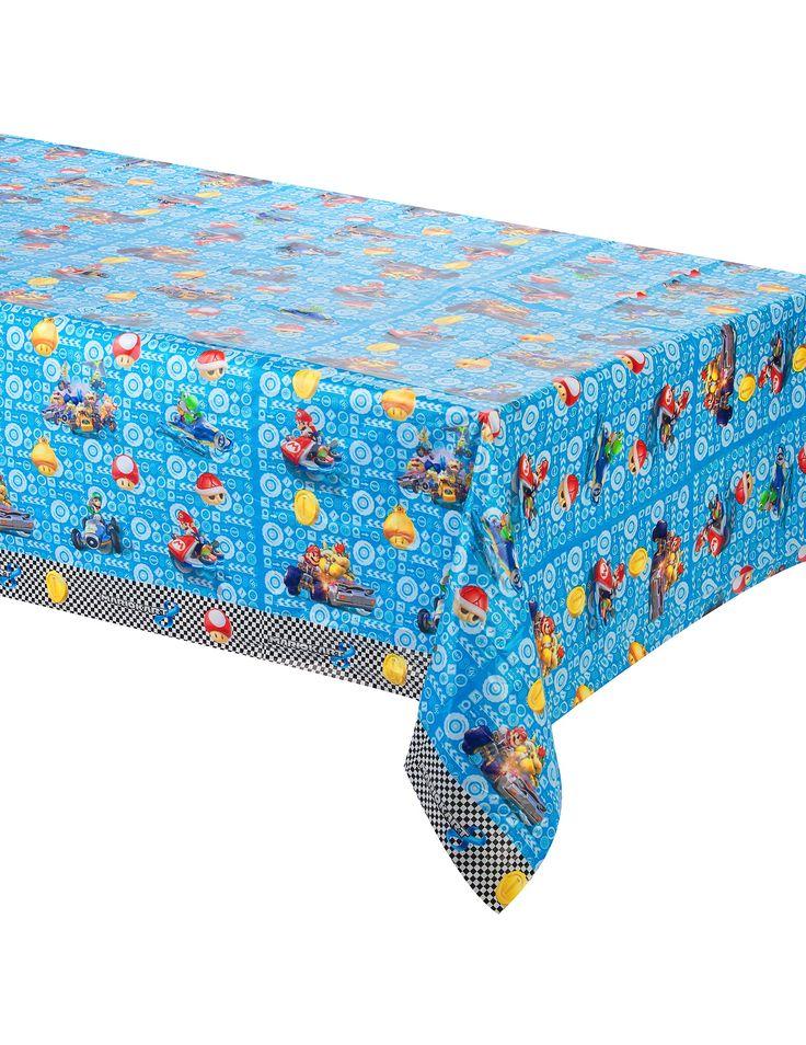 Tovaglia in plastica di Super Mario™ su VegaooParty, negozio di articoli per feste. Scopri il maggior catalogo di addobbi e decorazioni per feste del web,  sempre al miglior prezzo!