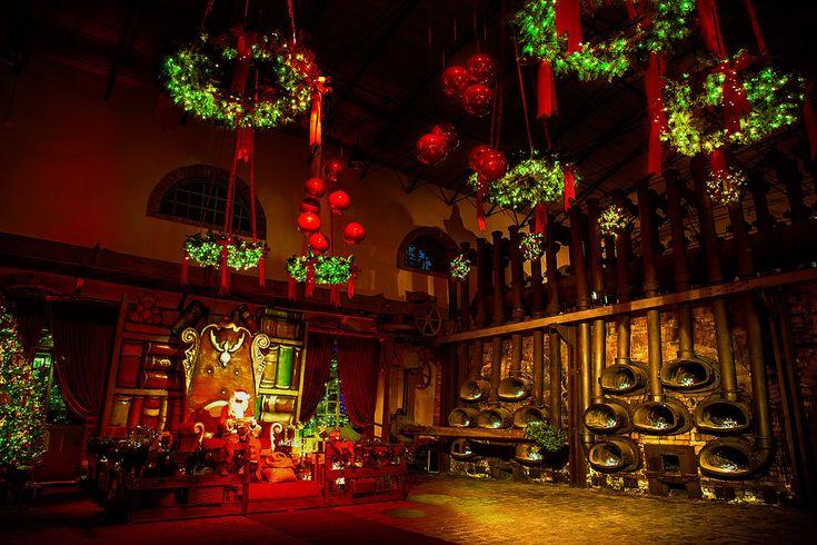 ΧΡΙΣΤΟΥΓΕΝΝΑ ΣΤΗΝ ΑΘΗΝΑ – The Christmas Factory – Santa's House (2014-2015) - Ο αγαπημένος Άγιος των παιδιών, που περιμένουν με ανυπομονησία κάθε χρόνο να κατέβει από την καμινάδα ή να μπει από το παράθυρο είναι φυσικά… στο «The Christmas Factory»!...