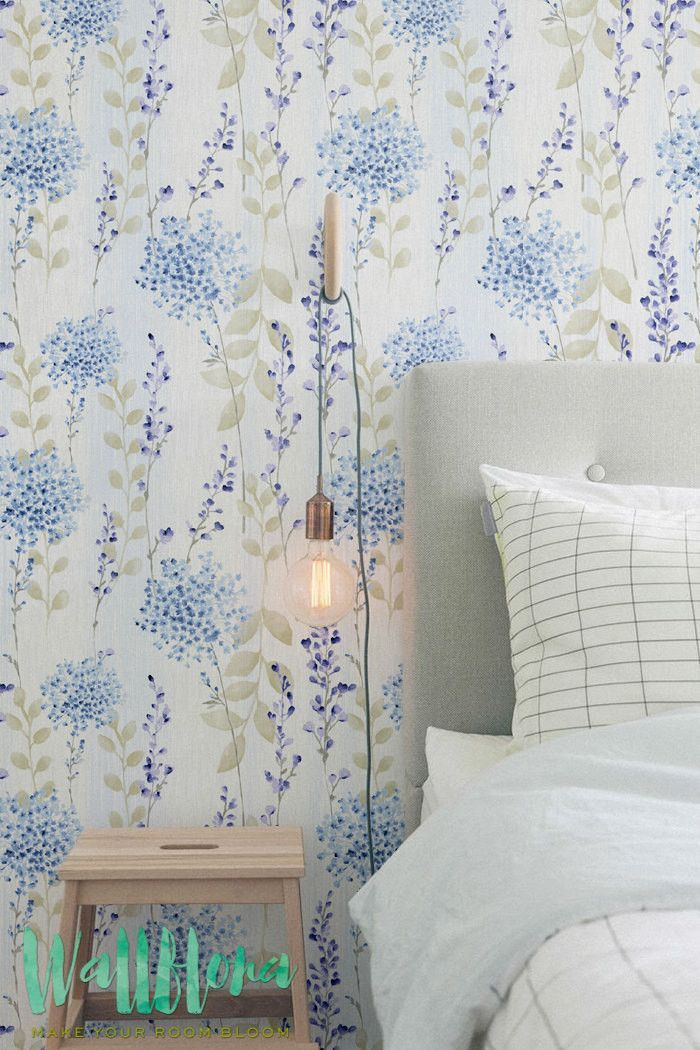 Forget-me-nots Self Adhesive Wallpaper | Vynil Wallpaper | Removable Wall Stickers | 228