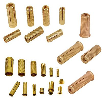 #BrassExpansionAnchors    Brass Expansion Anchors, Brass Anchors Concrete Anchors, Slotted expansion anchors Fasteners,  Brass Expansion Anchors Suppliers, We are engaged in manufacturing and supplying a wide range of expansion anchors.