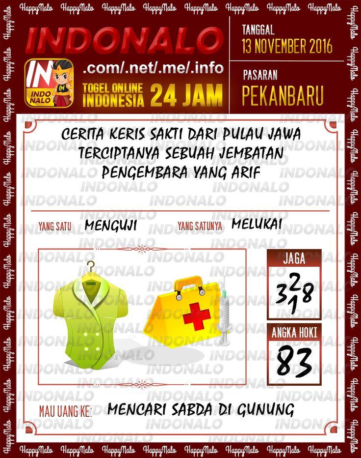 Angka Jaga 3D Togel Wap Online Live Draw 4D Indonalo Pekanbaru 13 November 2016