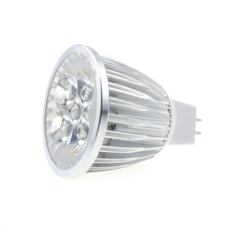 1PCS DC12V 5W LED Bulb Lamp MR16 Warn White Energy Saving LED Spotlight Bulb Replace Halogen Lamp For Home Bedroom