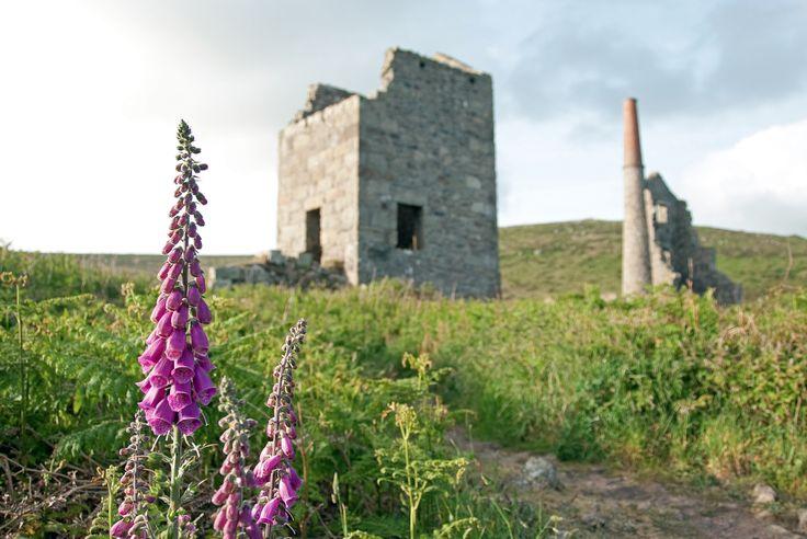Cornish Engine House, by Gary Swann