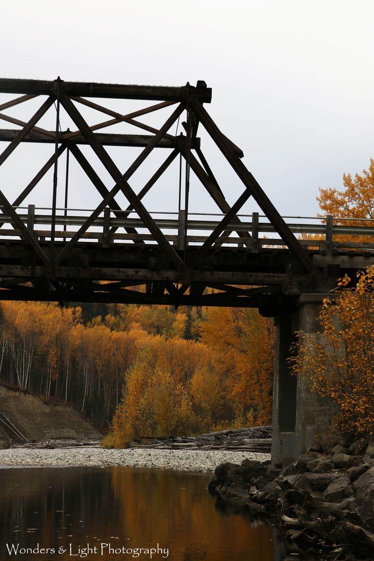 Old Cottonwood Bridge Quesnel BC